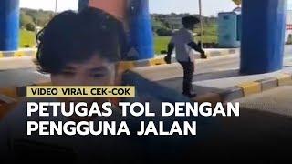 Viral Video Cek-cok Petugas Tol dengan Pengguna Jalan yang Tidak Mau Membayar Tunai