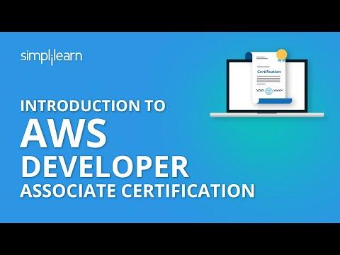 Introduction To AWS Developer Associate Certification | Simplilearn ...