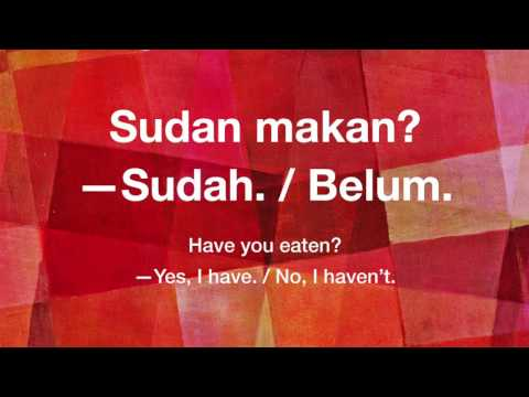 Learn Indonesian Phrases For Beginners:  1- Greetings