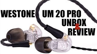 J Speak No 126 - Westone UM 20 Pro In Ears Unbox and Review