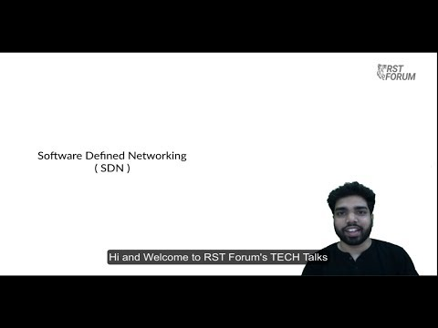 Introduction to SDN (Software defined network) - SDN and