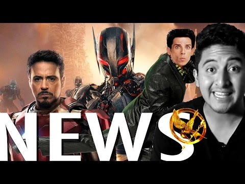 Avengers2, Zoolander2, Sinsajo y más