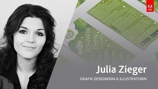 Live Grafikdesign und Illustration mit Julia Zieger - Adobe Live 3/3