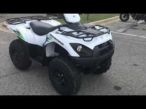2018 Kawasaki Brute Force 750 4x4i EPS in Greenville, North Carolina - Video 1