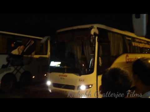 APSRTC GARUDA(HYDERABAD - KAKINADA)VOLVO 9400 B7R BUS AT MGBS,HYDERABAD