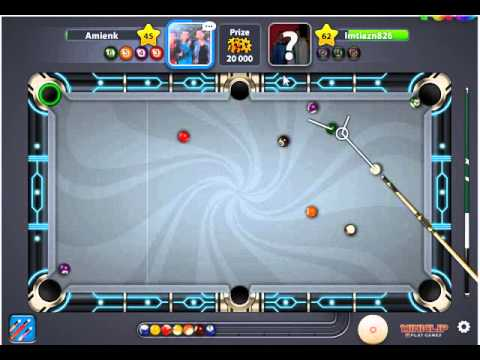 Video cara bermain 8 ball pool menag terus
