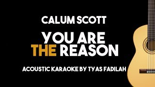 Calum Scott   You Are The Reason (Acoustic Guitar Karaoke Version)
