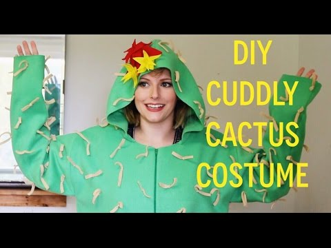 DIY cuddly cactus costume tutorial!