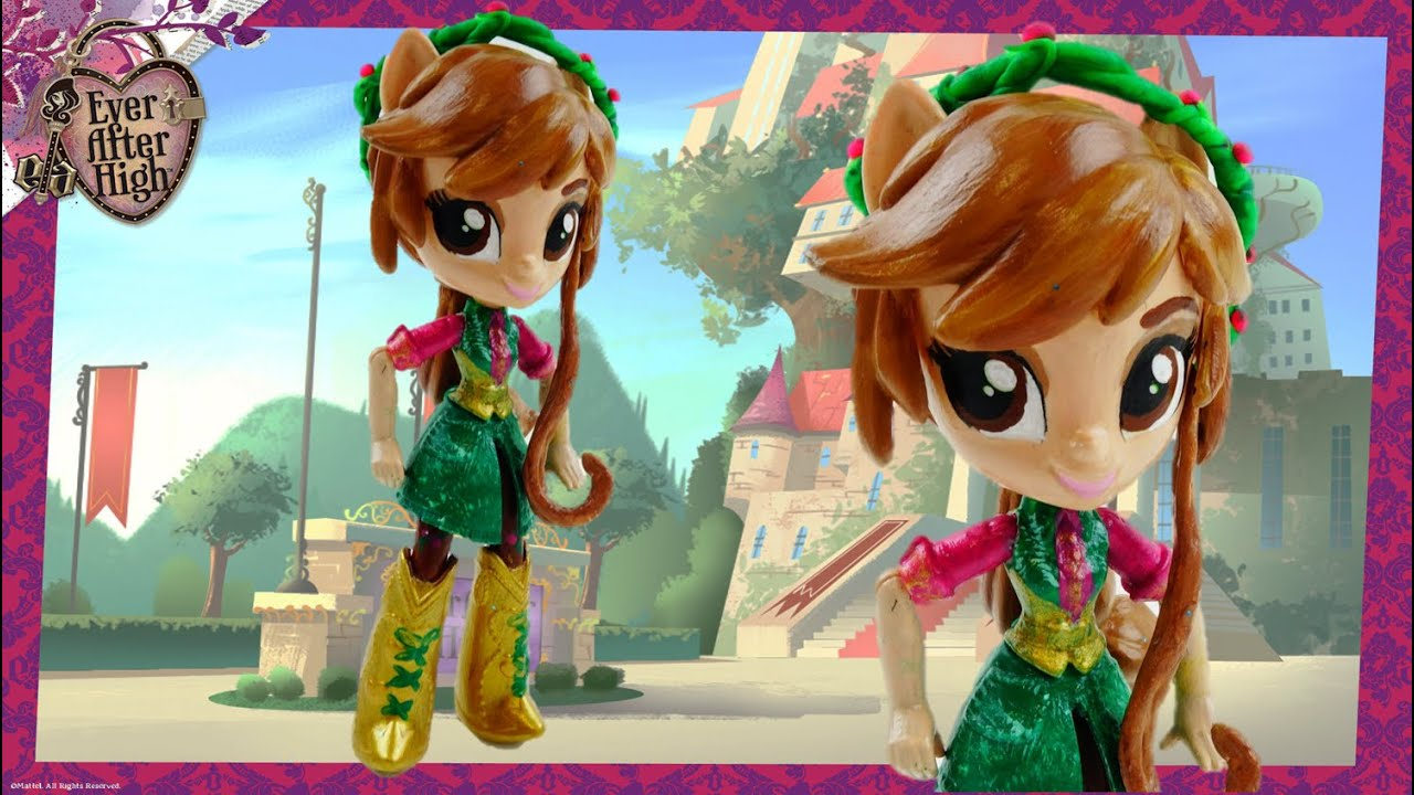 New Custom Ever After High Jillian Beanstalk Doll with MLP Equestria Girl Tutorial| Evies Toy House