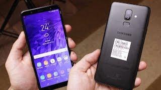 ЧЕСТНЫЙ ОБЗОР Samsung Galaxy J8 (2018)