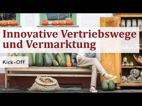 Kick-off Webinar: Innovative Vertriebswege und Vermarktung