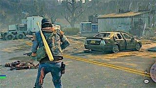 DAYS GONE - NEW Gameplay Demo (2018) Zombie Game