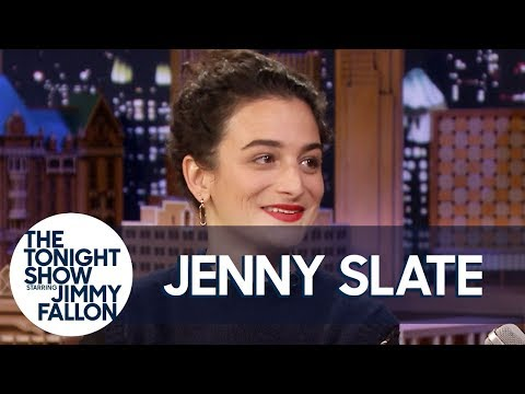 Jenny Slate's Proposal Story Involves an Abandoned Castle and Mouthfuls of Sausage