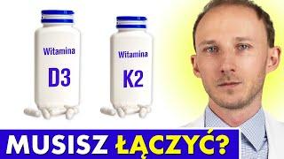 Nie łącz witaminy D3 z K2 MK7, zanim nie poznasz tych faktów! Nadmiar wapnia | Dr Bartek Kulczyński