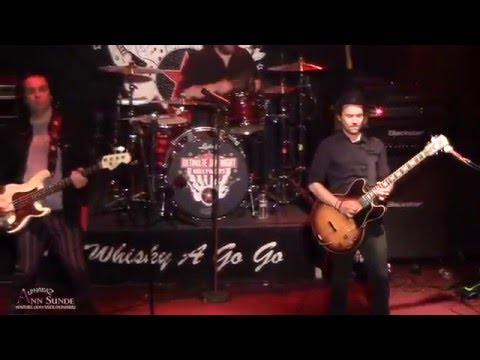 Ultimate Jam Night at the famous Whisky A Go Go, Hollywood, 2016