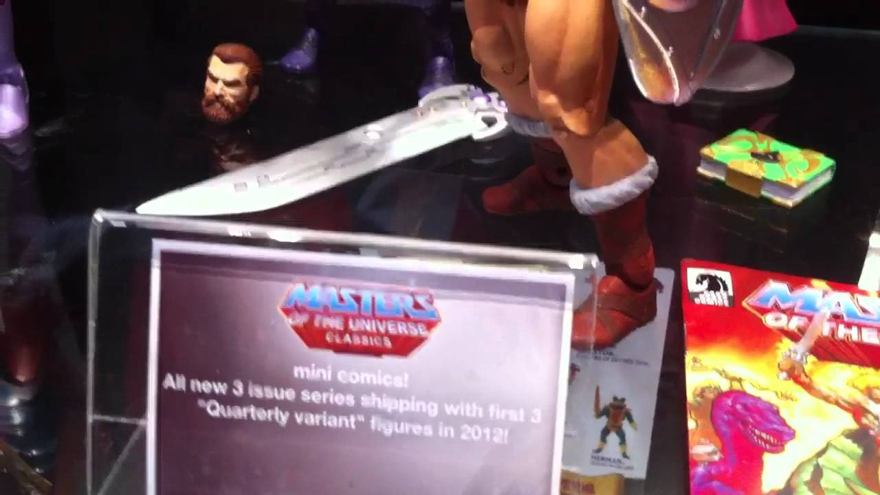 Masters Of The Universe Getting 'Classic' Toys