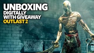 [Giveaway] Outlast 2 Unboxing - Outlast 2 PS4 Edition Unboxing