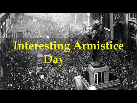 Interesting Armistice Day Facts