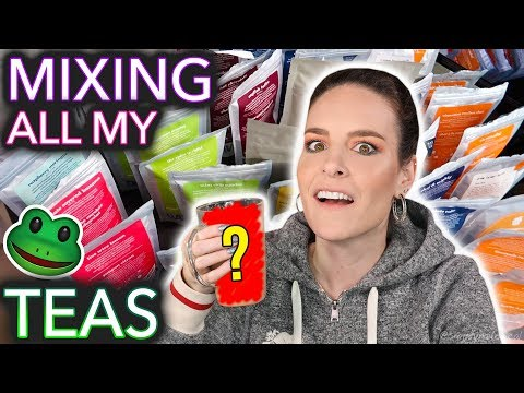 Mixing All My Tea Together *warning: some tea was spilled*