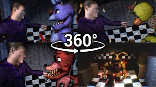 360°| FNAF3 Mini Game Compilation - Animatronic Prospect View [SFM] (VR Compatible)