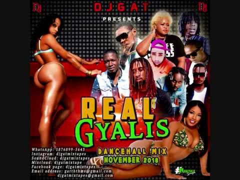 DANCEHALL MIX DJ GAT REAL GYALIS NOVEMBER 2018 FT VYBZ KARTEL/AIDONIA/ALKALINE/CHILLAA