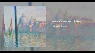 Piano Sonata No. 1 in C Major, Op. 1