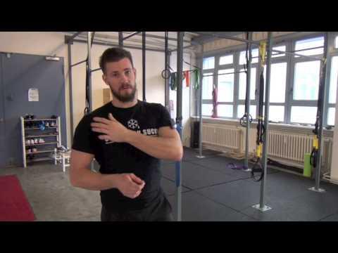 Osteophyten der Halswirbelsäule Massage