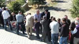 nevşehir derinkuyu çakilli köyü kurban bayrami 2013 mezarlikta bayramlaşma video 2
