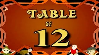 Learn Multiplication Table Of Twelve - 12 x 1 = 12   12 Times Tables   Fun & Learn Video for Kids