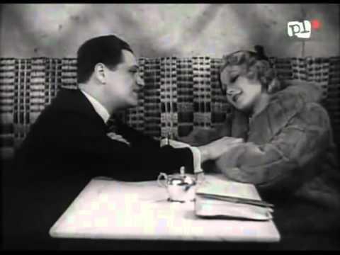 """Eugeniusz Bodo i Ina Benita w filmie """"Jego ekscelencja subiekt"""" - Tyle miłości 1933 r."""