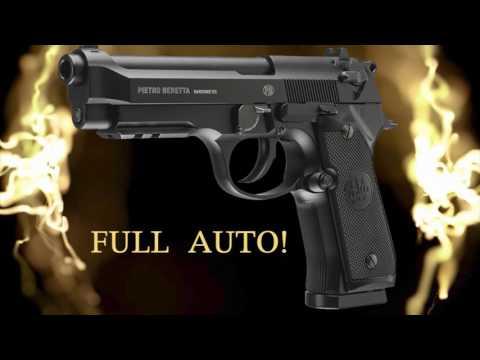 Umarex Full-Auto Beretta 92 A1!