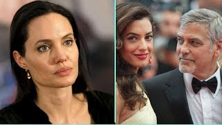 Angelina Jolie odia a la esposa de George Clooney