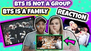 BTS IS NOT A GROUP, BTS IS A FAMILY (Try Not To Cry Challenge) Reaction