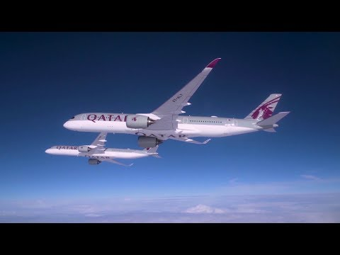 Soaring high above the skies with the Airbus A350-1000 and A350-900
