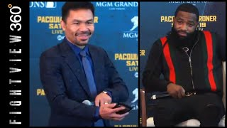"SINNER BRONER ROASTED BY SENATOR PACQUIAO! ""I PROMOTE YOU""! BEST OF PAC BRONER LA PRESS CONFERENCE!"