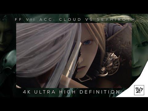 FFVII ACC: Cloud Vs Sephiroth