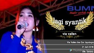 Gambar cover Lagi Syantik - Via Vallen (Live 21 Juli 2018 Cover Siti Badriah Terbaru)