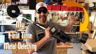 Metal Detecting for the First Time with a Harbor Freight 9 Function Detector!!!