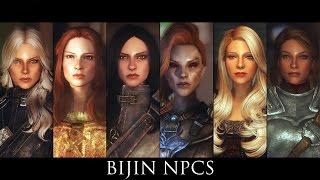 TES V - Skyrim Mods: Bijin NPCs