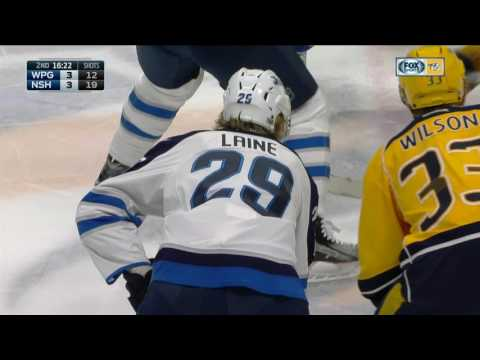 Gotta See It: Laine snipes one past Rinne for 33rd goal of the season