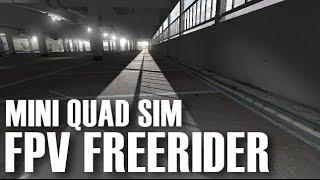 FPV Freerider Simulator - Thomas' Car Park Racing Time Trial