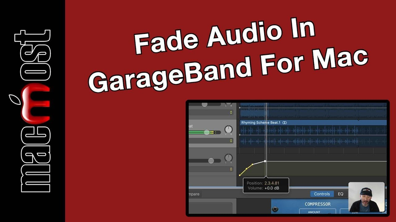Fade Audio In GarageBand For Mac