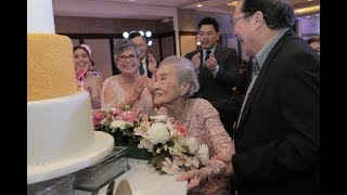 { Cecilia @ 100 } The Bellevue Manila | Affordable Birthday Photo and Video with Same Day Edit (SDE)