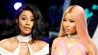 Nicki Minaj REACTS to Cardi B