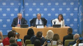 World Refugee Day - UN Secretary-General Press Conference (Highlights)