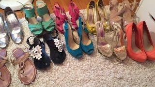 Моя коллекция летней обуви. Часть 2