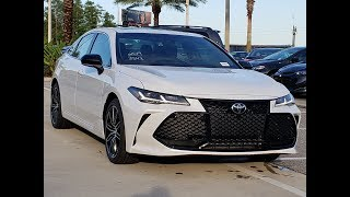 2019 Toyota Avalon -  Interior, Exterior and Drive of the Excellent Sedan !!