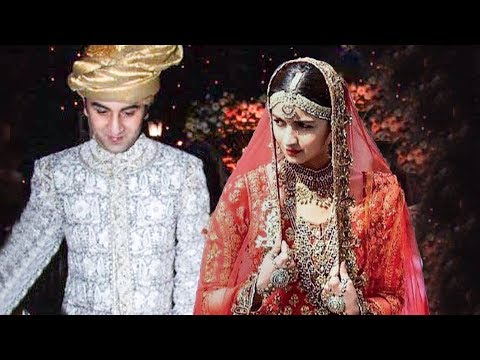 Alia Bhatt Gets Married Secretly? | Marriage Photo