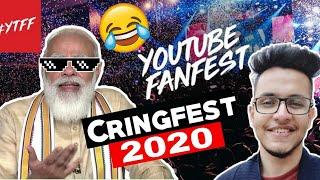 Youtube Fanfest Cringe 2020 | ytff 2020 ft Triggered Insaan | Est Entertainment