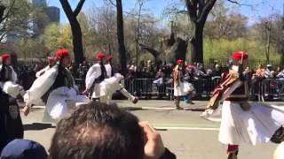 Greek Independence Day Parade Fifth Ave 2016